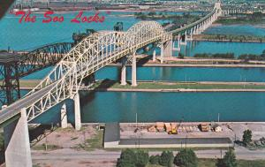 Soo Locks,  Sault Ste. Marie,  Michigan,  40-60s