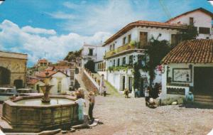 TAXCO, Guerrero, Mexico; Colonial Fountain, 40-60s