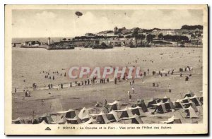 Old Postcard Royan La Conche and Port View from the Hotel des Autans