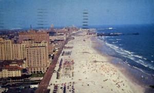 Airplane View of Atlantic City Atlantic City NJ 1958