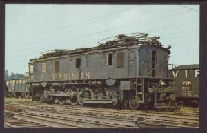 Virginian Electric 113 Postcard
