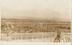 RP: FORT BLISS , Texas , 1900-10s ; Remount