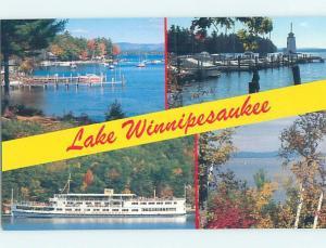 Unused Pre-1980 LAKE WINNIPESAUKEE Laconia - Meredith New Hampshire NH hn3382-14