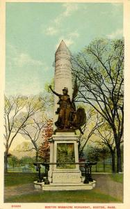 MA - Boston. Boston Massacre Monument