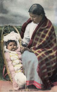 Pride Of The Kloochman Antique Hindi Hindu Postcard
