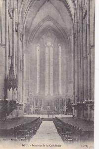 Interieur De La Cathedrale, Toul (Meurthe-et-Moselle), France, 1900-1910s