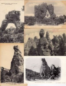 MONTPELLIER-VIEUX Aveyron 51 Cartes Postales 1900-1940