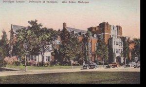 Michigan Ann Arbor The Michigan League  University Of Michigan  Albertype