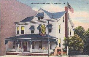 Pennsylvania Lansford The American Legion Post 123