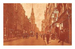 London Cheapside Tower, St Mary-le-Bow, Wren masterpiece 1900 Nostalgia Reprint