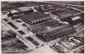 Leipzig Technische Mosso 1930s Old Real Photo Aerial German Postcard