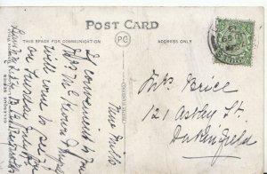Genealogy Postcard - Brill? - 121 Astley Street - Dukinfield - Ref 4697A