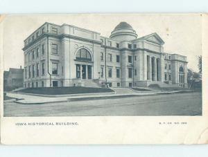Pre-1907 IOWA HISTORICAL BUILDING Des Moines Iowa IA H7324