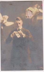 RPPC, Magician / Magic, Card Trick