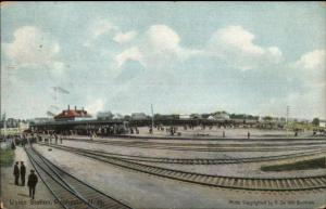 Rochester NH Union RR Train Station Depot c1910 Postcard #2