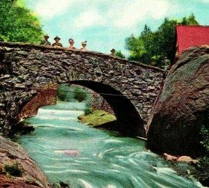 Manitou Colorado Co Pierre Pont À Soda Ressorts Neuf Unp 1910s Carte Postale
