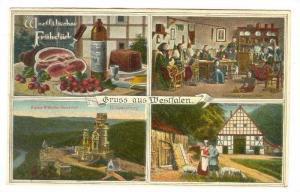 4Views, Westfaliches Fruhstuck, Dinner-Meat & Vine, Castle, Women Sewing, Cou...