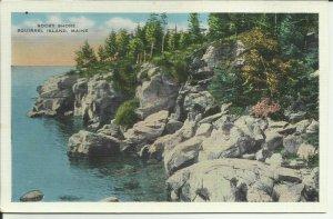 Rocky Shore, Squirrel Island, Maine