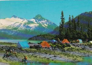 Canada British Columbia Price Mountain In Garibaldi Provincial Park