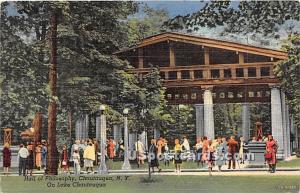 Hall of Philosophy Chautauqua NY 1952