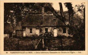 CPA VARENGEVILLE-sur-MER - Chaumiere di Chemin de l'Église (105811)