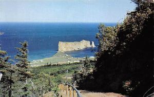 Canada Another view of Perce Rock Mont St. Ann Perce P.Q. 1964