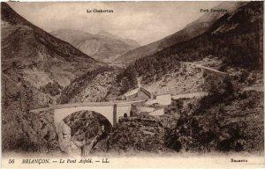 CPA BRIANCON - Le Pont Asfeld (453631)