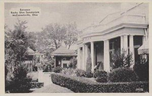 Ohio McConnellsville Entrance Rocky Glen Sanatorium Dexter Press Archives