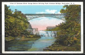 New York, Rochester - Genesee River & Park Avenue Bridge - [NY-413]
