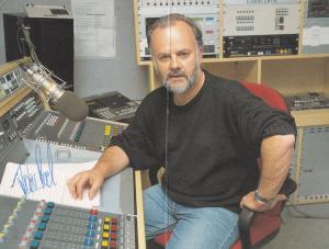 John Peel Punk Rock DJ Double BBC Hand Signed Cast Card