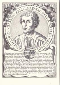 Fra Gvglielmo di Villareto Sovereign Military Order Of Malta