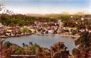 Panoramic View Kandy Ceylon, Ceylan Unused