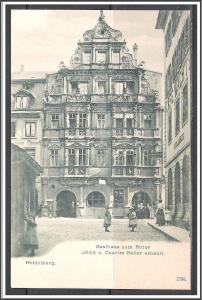 Germany, Heidelberg Charles Belier Built Guesthouse To Knight - [FG-130]