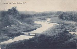 Below The Dam, Medina, New York, 1900-1910s