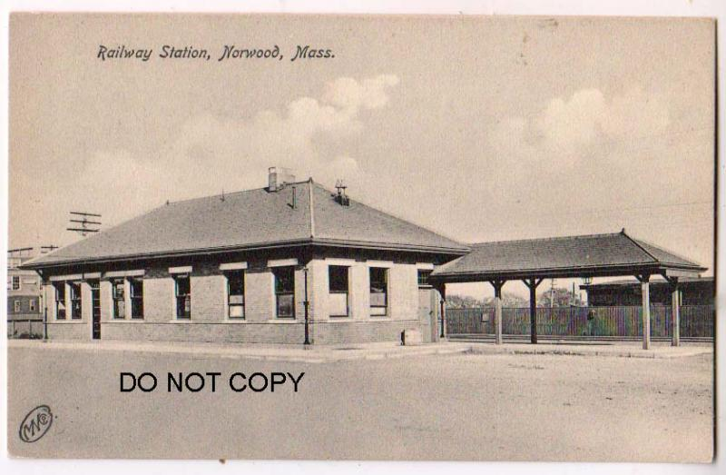 Railway Station, Norwood Mass