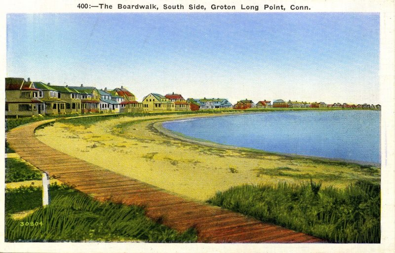 CT - Groton, Long Point. The Boardwalk, South Side