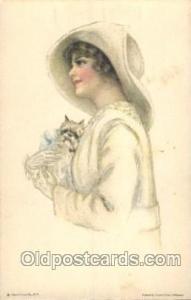 Pearl Eugenia Fidler,  Artist Signed Postcard Postcards American Girl No. 31 ...