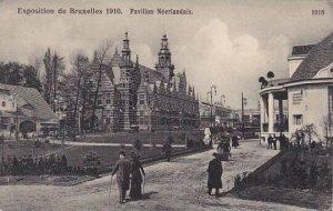 Exposition Universelle Bruxelles 1910 Pavillon Neerlandais