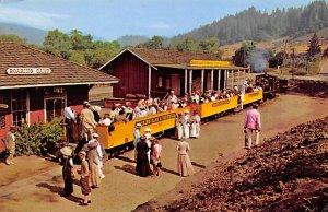 Amtrak Train Postcard Old Time Excursion Train Unused