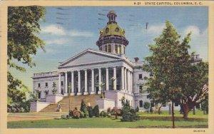 State Capitol Columbia South Carolina 1944