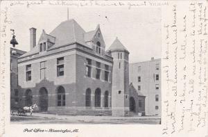 BLOOMINGTON, Illinois, 00-10s; Post Office