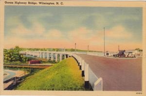 Ocean Highway Bridge, WILMINGTON, North Carolina, 1930-1940s