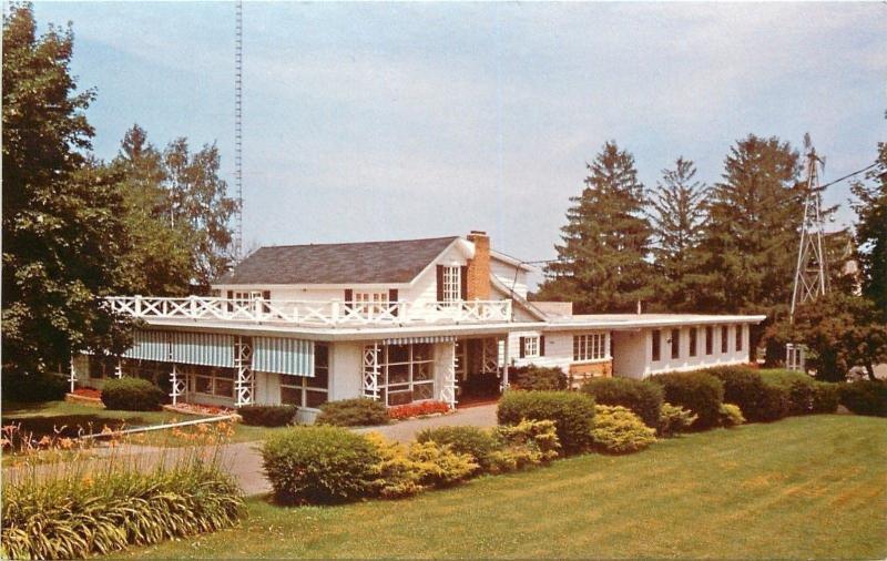 Baraboo Wisconsin~The Farm Kitchen~The Morgan Family~1960s Postcard ...