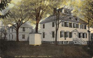 Johnstown NY Home: Baronet Johnson Led Iroquois During French & Indian War c1910
