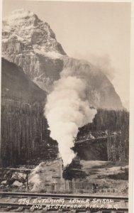 RP: Train , Lower Spiral & Mt Stephens , FIELD , B.C. , Canada , 00-10s