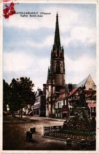 CPA CHATELLERAULT - Église St-JEAN (365600)