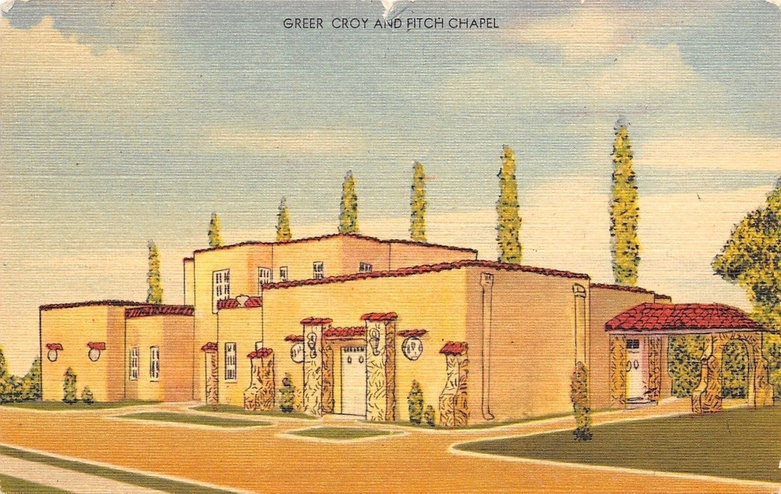 Poplar Bluff Missouri Greer Croy And Finch Funeral Home Chapel 1962