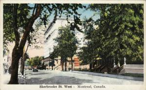 Sherbrooke St. West, Montreal, Quebec, Canada, 1910-1920s