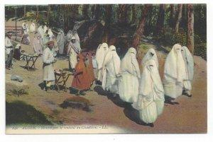 ALGER, Mauresque se rendant au Cimetiere, Algeria, 00-10s