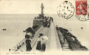 CPA  Le Havre - La Jetée  (201155)
